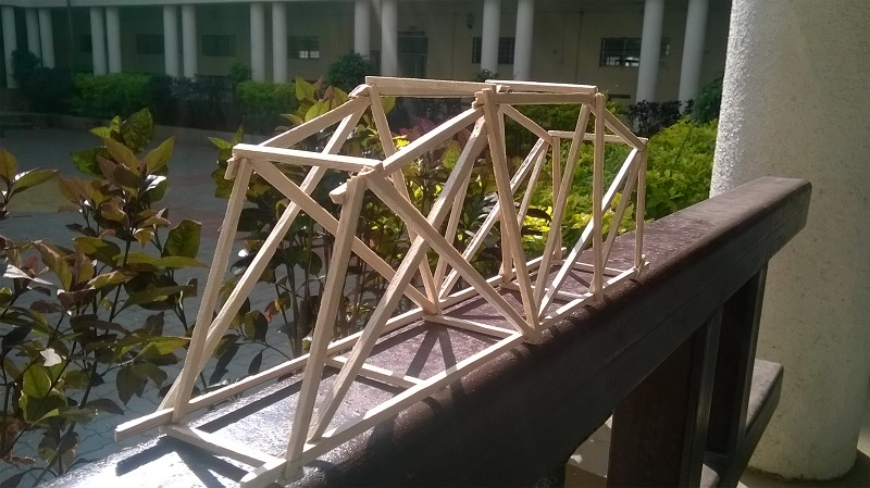 Bridge Competition With IIT Mumbai