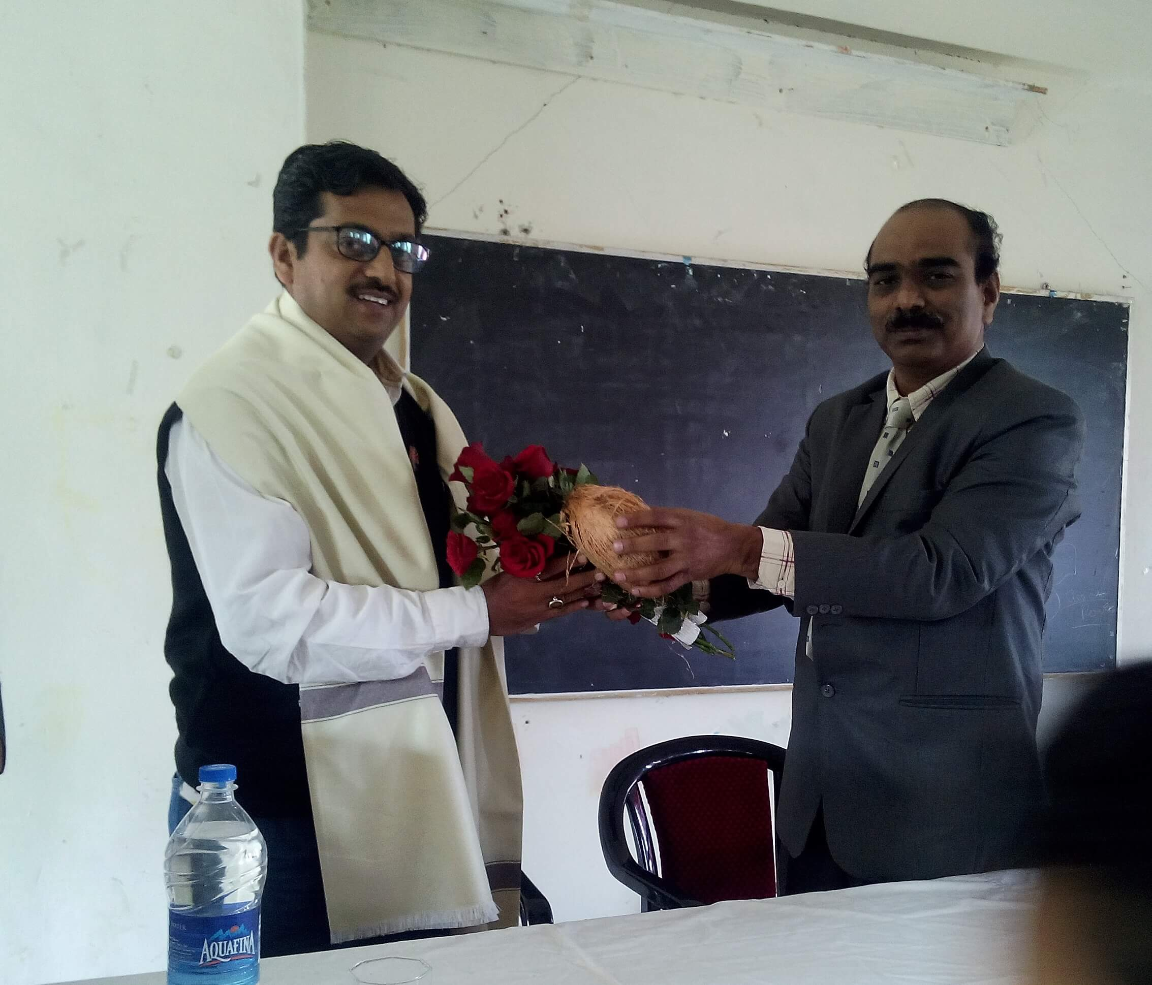 Felicitation of Dr. Munir Sayyad