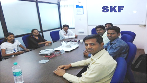 HR MANAGER- MR. ASHFAK SHAIKH SKF IND. LTD. PUNE