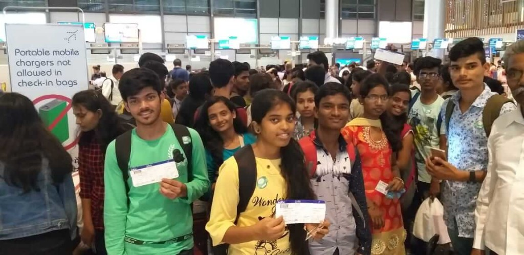 Hyderabad Visit for Toppers